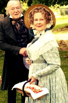 Cranford- I have a feeling Miss Matty is the older version of myself sometimes. We even share a passion for turbans ;)