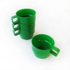 DÉCOR stacking cups designed by Tony Wolfenden 1970s