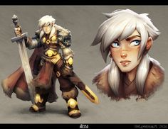 A lil' character design! :D