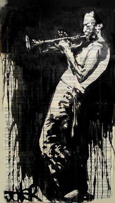 Miles Davis by Loui Jover