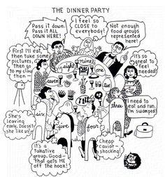 Enneagram dinner party