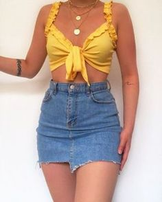 May 2020 - Daily Outfits Summer Fashion Outfits, Cute Summer Outfits, Cute Casual Outfits, Cute Fashion, Stylish Outfits, Mode Outfits, Girly Outfits, Pretty Outfits, Teenage Outfits