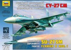 Náhled produktu - 1:72 SU-27SM Flanker B MOD. 1