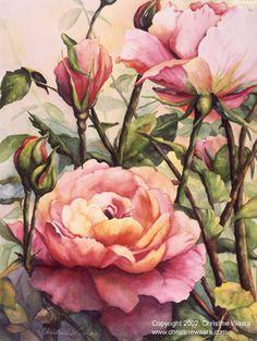 Art of Christina Waara   WATERCOLOR