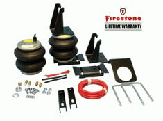 """Firestone """"Ride-Rite"""" Air Bag Helper Springs for Dodge Ram 2500, 3500. Fits years 2003-2012. Provides up to 5000lbs load leveling capacity. http://www.sdtrucksprings.com/firestone-2299-ride-rite-air-bag-kit-dodge-ram-2500-3500 $337.76"""