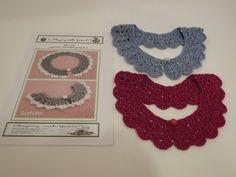 Crochet collar / peter pan collar / lace look collar - YouTube