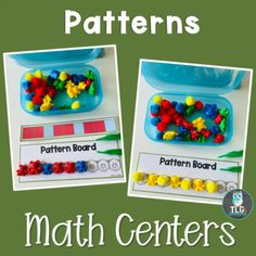 Math Centers--Bear Theme by Andrea Miller | Teachers Pay Teachers Subitizing Activities, Number Sense Activities, Bear Theme Preschool, Preschool Activities, Activity Centers, Math Centers, Math Lessons, Math Skills, Inspired Learning