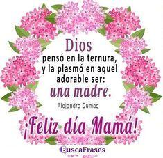 Frases de feliz día de las mamás Mama Quotes, Happy Mothers Day, Clipart, Free, Motivational, Snoopy, Angel, Holidays, Google