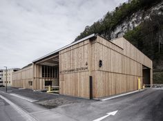 Recycle-Kathedrale - Altstoffsammelzentrum in Vorarlberg von Marte.Marte