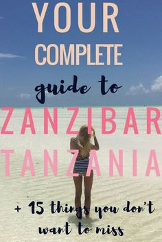 Your Complete Guide to Zanzibar + 3 Week ItineraryBelow is a guest post from Rita who has spent loads of time in Zanzibar. I asked her to share with you how to get to Zanzibar, some of her favorite Zanzibar hotels, and an itinerary for 3 weeks on the island. She's added in plenty of adventurous things to do in Zanzibar throughout the article!