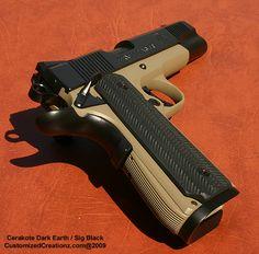 Colt 1911 Custom Cerakote - Timeless beauty and utility.