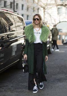Janaes Style betrend.pt :: 15 Looks Com Casacos de Pelo Colorido