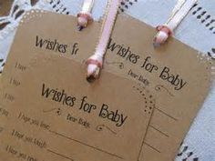 Printable Wishes for Baby Shower - Bing images