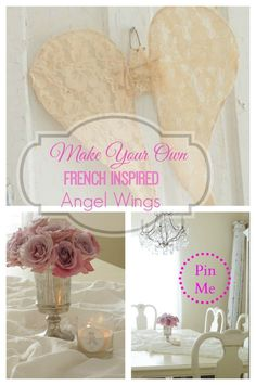 French Inspired Angel Wings