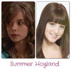 Summer Hoyland Merisa Siketa - 2002-2005, 2006, 2007 Jordy Lucas - 2010-2013