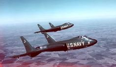 The Vought F7U Cutlass was a United States Navy carrier-based jet fighter and fighter-bomber of the early Cold War era