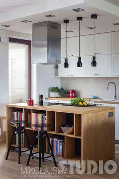 KUCHNIA W STYLU LOFT Loft, Home Interior Design, Living Room, Kitchen, Table, Furniture, Home Decor, Design Ideas, Studio