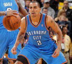 Thabo Sefolosha - NBA Player - Oklahoma City Thunder #2 - Guard