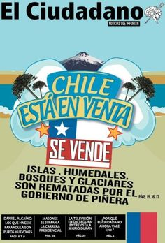 Chile is for sale!