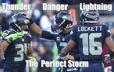 Seattle Seahawks ARE the perfect storm. Seahawks Memes, Seahawks Football, Nfl Football Teams, Best Football Team, Football Memes, Seattle Seahawks, Football Stuff, Funny Football Pictures, Nfc Teams