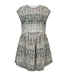 IRO Printed Short Sleeve Dress. #iro #cloth #