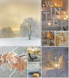 Do seasonal collages Spring, Summer, Fall, Winter Winter Szenen, I Love Winter, Winter Magic, Winter Is Coming, Winter White, Winter Season, Winter Christmas, Collages, Color Collage