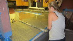 Hometalk :: Our Concrete Countertops