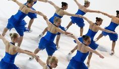 Marigold IceUnity on moninkertainen muodostelmaluistelun maailmanmestari. Ice Dance, Marigold, Skating, Finland, Sumo, Champion, Blue And White, Wrestling, Lucha Libre