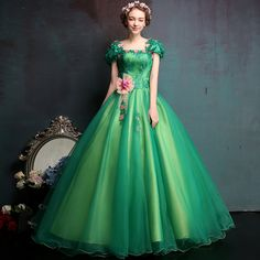 2016 New Stock Arrival Ball Gown Organza With Beads Quinceanera Dresses Dresses 15 Years Vestidos De 15 Anos Stock Size:2-18W