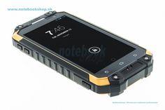 Uniq Phone X3 - Outdoor phone - Odolný mobilný telefón s OS Android 4.4.2 s vynikajúcimi parametrami: 8-jadrový procesor,kamera zadná 12Mpx, predná 5Mpx, 2GB RAM,  IP68..., ktorý tiež disponuje funkciou walkie talkie (komunikácia pomocou vysielačky). Spĺňa vojenskú normu MIL-STD 810G a IP68. Android, Outdoor, Electronics, Phone, Outdoors, Telephone, Outdoor Games, Outdoor Living, Mobile Phones
