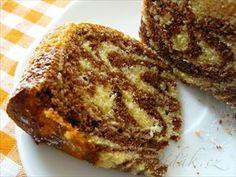 Zobrazit detail - Recept - Jogurtovka tygrovaná Bunt Cakes, Pound Cake, Croissant, French Toast, Sweets, Breakfast, Recipes, Food, Detail