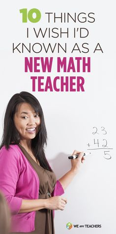 New-math-teacher