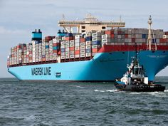 Merchant Navy, Merchant Marine, Maersk Line, Cargo Container, Container Homes, Shipping Company, Jet Ski, World's Biggest, Rotterdam