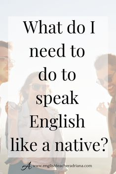 Improve your English Speaking Skills with these 4 easy steps. Click the link below to watch the full video lesson Advanced English Vocabulary, English Speaking Skills, English Language Learning, English Class, English Lessons, Learn English, Tenses English, Improve Your English, Grammar Lessons
