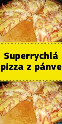 Superrychlá pizza z pánve Pizza Dough, Quiche, Food And Drink, Low Carb, Tasty, Beef, Homemade, Chicken, Dinner