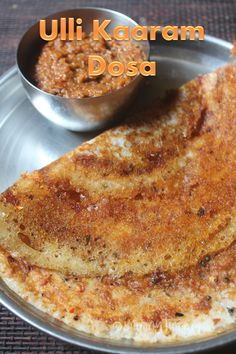Delicious onion chutney dosa which taste super delicious and so flavourful. This Ulli Kaaram Dosa is perfect for breakfast.