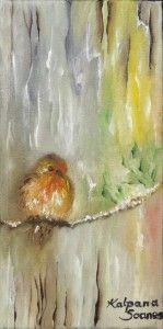 """Chirpy Robin"" by Kalpana Soanes"