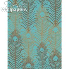 Peacock by Matthew Williamson is an incredible textured wallpaper. This designer wallpaper is opulent and iconic. Decor Interior Design, Interior Decorating, Wallpaper Ideas, Peacock, Designer, Shower, Bedroom, Prints, Home Decor