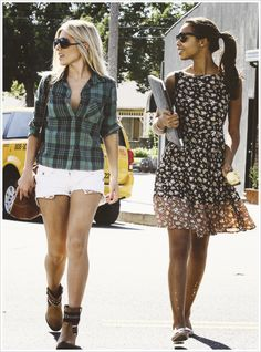 mollie king and rochelle humes. Why are you girls so fab?!