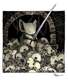 Mouse Guard is an American bi-monthly comic book series written and illustrated by David Petersen and published by Archaia Studios Press Character Creation, Character Concept, Character Art, Concept Art, Character Design, Dnd Characters, Fantasy Characters, Illustrations, Illustration Art