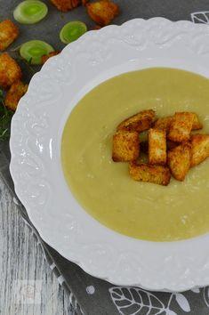 Supa crema de praz cu cartofi - CAIETUL CU RETETE