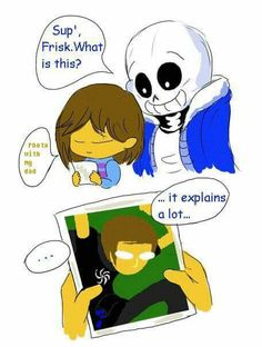 ...headcanon accepted. I also think this is technically canon, because Toby created Undertale in Andrew Hussie's basement?