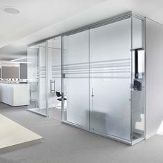 Swissmedic labor glastrennwandsystem swissdivide glastrennw nde pinterest glas - Trennwand schiebesystem ...