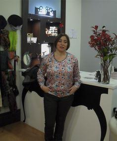 Ana Rapaza Ela Diz,  Shirt by Mi Clo & pants by Mado et les autres