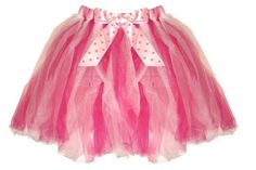 Dark Pink & White Polka Dot Tutu Skirt (one size, ages 2-8 year, size 2T-10/12) - dress-up fairy girls toddler youth princess party ballet costume dress up apparel tutus Bugs-n-Blooms, http://www.amazon.com/dp/B0056OEHM2/ref=cm_sw_r_pi_dp_CxdLqb0GJC68R