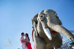 mkPhoto » Blog Archive » Andrea & Jonathan Engagement ~ mkPhoto~ New Jersey Wedding Photographer @ Margate, Lucy the Elephant
