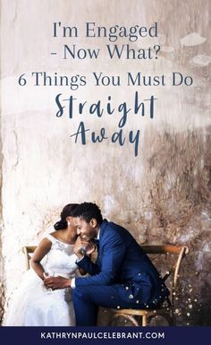 I'm Engaged - Now What? 6 Things You Must Do Straight Away | Kathryn Paul ♥ Marriage Celebrant Sydney