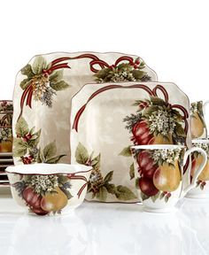 222 Fifth Holiday Yuletide Celebration Collection - Christmas Dining - Holiday Lane - Macy's