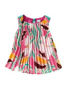 If only they made it in my size!    Diane von Furstenberg ♥ babyGap pleated tank | Gap