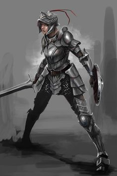 Just discovered this sub, my collection of armored women - Album on Imgur